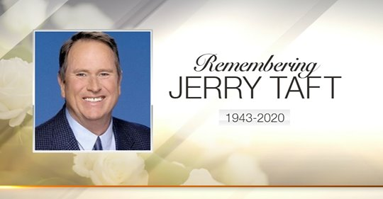 Jerry Taft Dead at 77 : ABC 7 meteorologist Jerry Taft dies at 77