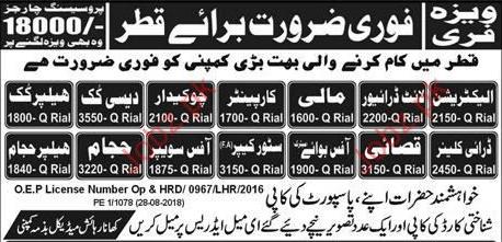 Jobs in Qatar 2021, Today's 1500+ Vacancies in Qatar